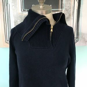 Ralph Lauren zip neck sweater